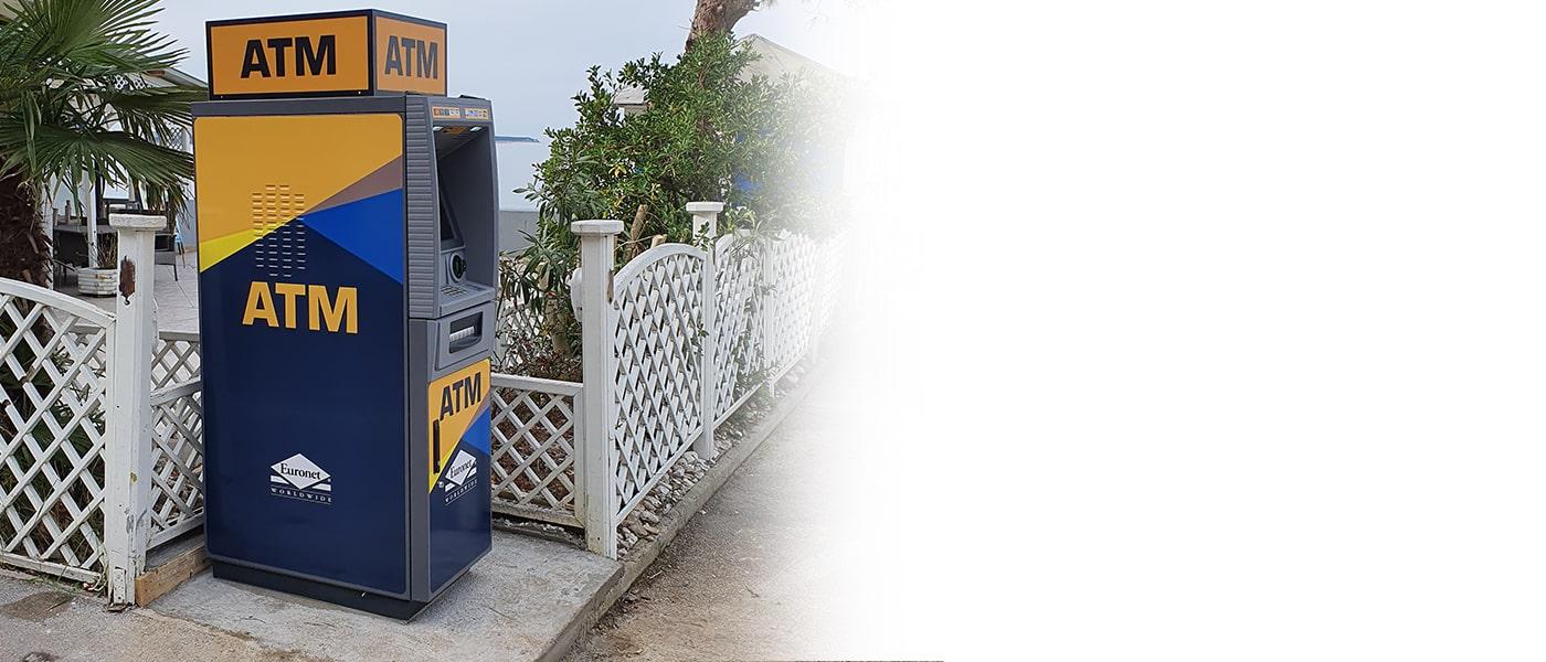 Naše rešitve bankomatov so zasnovane z mislijo na številne panoge.