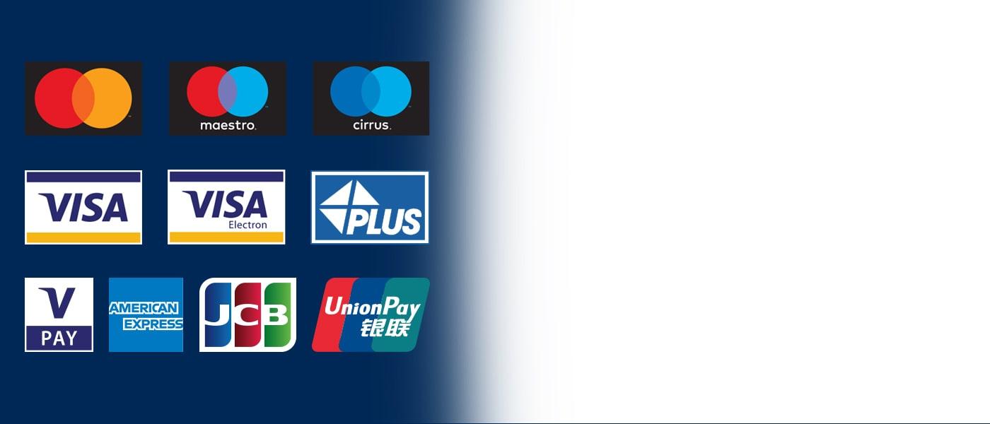 Bankomati Euronet sprejemajo vse glavne kartice